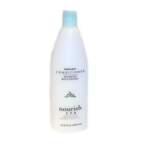 Trader Joe's Nourish Spa Balance Moisturizing Conditioner - Cruelty Free 16.9oz