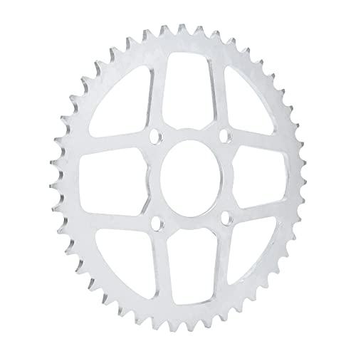 Piñón de Cadena, piñón C49 Acero con Alto Contenido de Carbono La dureza Superior supera el mecanizado de precisión para Motocicleta ATV Quad Pit Dirt Bike