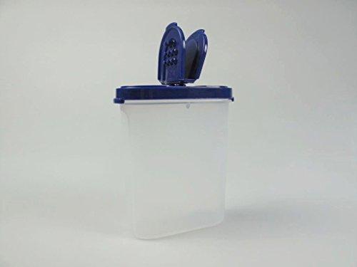TUPPERWARE Gewürz-Riese 270 ml blau Gewürz Behälter Gewürzbehälter groß
