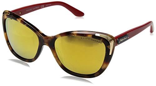 Ralph Lauren 0RL8171 Gafas de sol, Gold Havana, 56 para Mujer