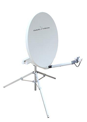 Travel Vision R6-80 Volautomatische mobiele SAT-antenne met 80 cm spiegel