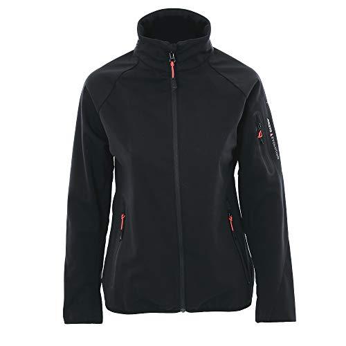 Musto dames Crew softshell jas zwart EWJK047 - gemakkelijk stretch ademend
