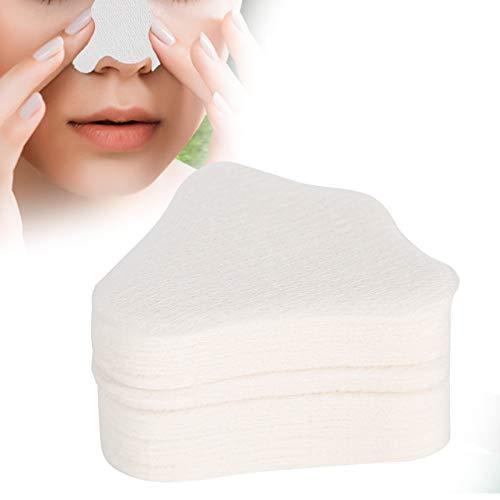 Tiras de puntos negros, papel desechable para mascarilla nasal, limpiador fuerte de poros nasales, mascarilla despegable para eliminar el exceso de aceite y piel, 80 piezas x 2