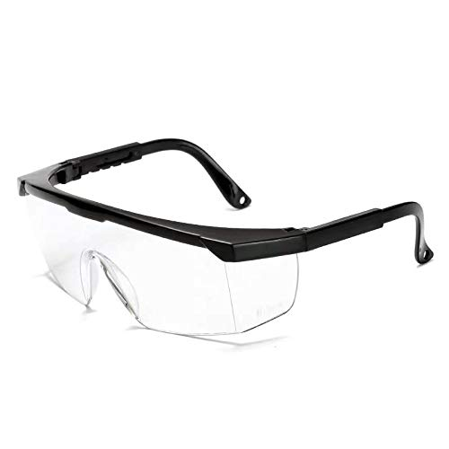 Industrial Anti-Fog Approved Wide-Vision Lab Glasses ANSI Z87.1 Approved