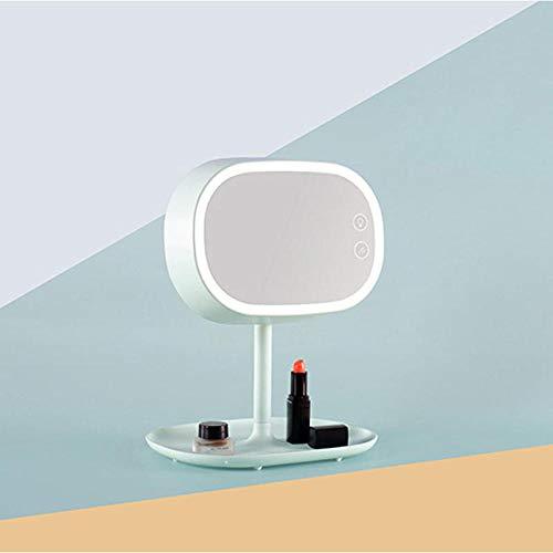 WXXALN Vanità spiegel, op maat gemaakt, bedlampje voor nachtkastje, bedlampje met intelligent desktop B