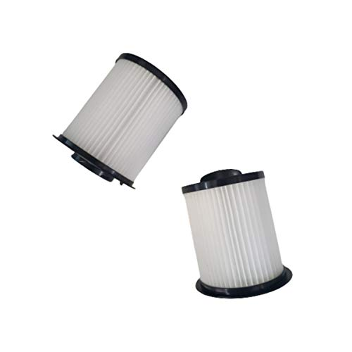 Ovente Premium HEPA Air Filter Replacement for ST2000 & ST2010 Bagless Canister Vacuum Cleaner with 99.9% Ultra Dust & Particles Filtration, Compact Easy Installation & Storage, Pack of 2 ACPST20702