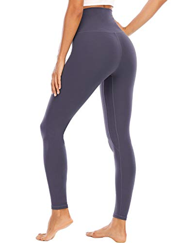 ECHOINE Womens Yoga Legging - Buttery Soft Tummy Control High Waist Workout Pants Legging Sports Tights Lavender Purple