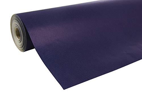 Clairefontaine 507513C Rolle Geschenkpapier (50 x 0,7 m, spezielle Breite, Kraftpapier, strapazierfähig) 1 Stück blau