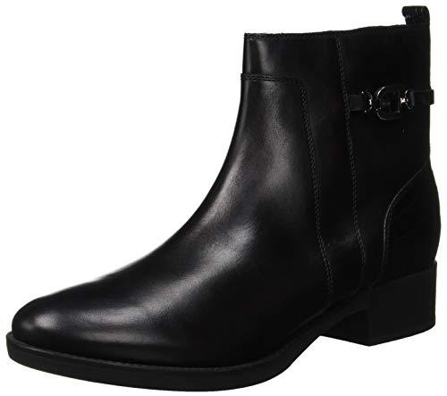 Geox Damen D Felicity A Stiefeletten, Schwarz (Black C9999), 38 EU