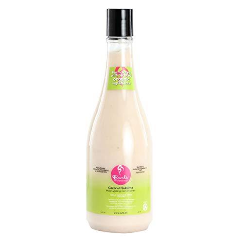 des boucles de noix de coco Sublime Après-shampoing hydratant