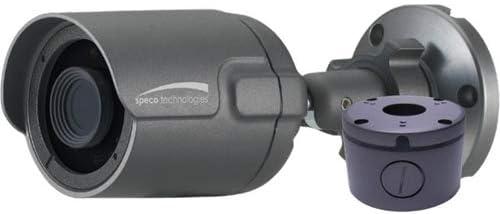 SPECO Technologies O2IB68 2MP Intensifier IP Bullet Camera, 3.6MM Lens