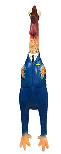 Latex Chicken Design Dog Toy (boy)
