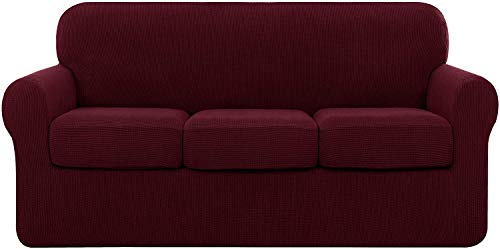 subrtex 3er Sofabezug mit 3 Kissen...