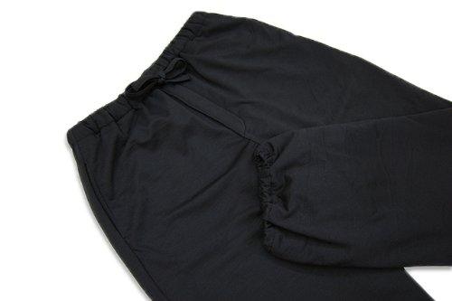ひめか『スラブニット織り裏フリース中綿入り作務衣』