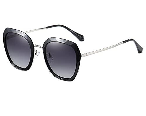 NBJSL Se ajusta a las gafas graduadas normales para damas. Moda Gafas de sol de moda Exquisito embalaje