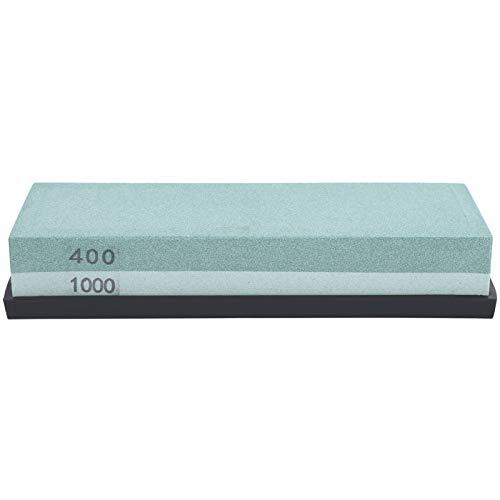 Cuchillo de guía de ángulo, piedra de afilar, cuchillo, herramientas de pulido, piedra de afilar 400/1000 para la base de la cocina del hogar, piedra para aplanar