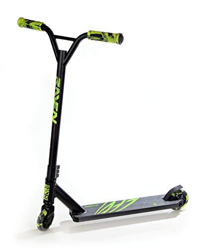 RAVEN Stunt/Freestyle Scooter, Roller, Tretroller, Cityroller Evolution Seeker (Lemon)