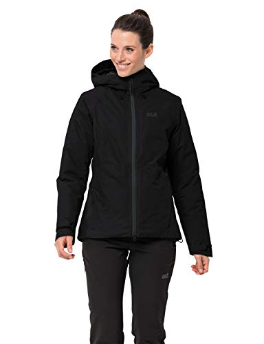 Jack Wolfskin Damen Argon Storm Jacket W Wetterschutzjacke, Black, XL