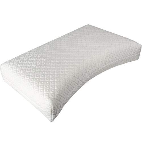Cassenz Monaco | Latex Nackenstützkissen | Tencel® Bezug waschbar Medium | Höhe 15 cm