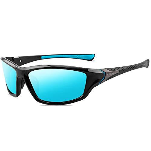 NUEVO Gafas de sol polarizadas hombres marca diseñador vintage gafas de sol conductor/paseo/deporte anti-deslumbramiento mujeres gafas, C1,