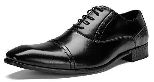 [神戸リベラル]シワになりにくい スプリットレザー 革靴 ビジネスシューズ 内羽根 メンズ LB308 (ブラック 26.0cm)