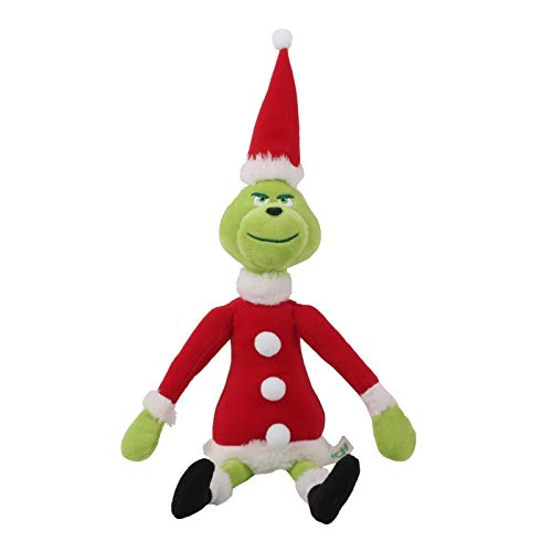 SYFO Juguetes Waylike 2021 Ao Nuevo Navidad Geek Mueca de Peluche Verde Monster Mueca Baby Gift Baby Toy (Color : D 32CM)