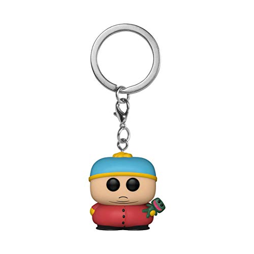 Funko- Pop Keychain: South Park-Cartman w/Clyde Figurine de Collection, 51642, Multicoleur