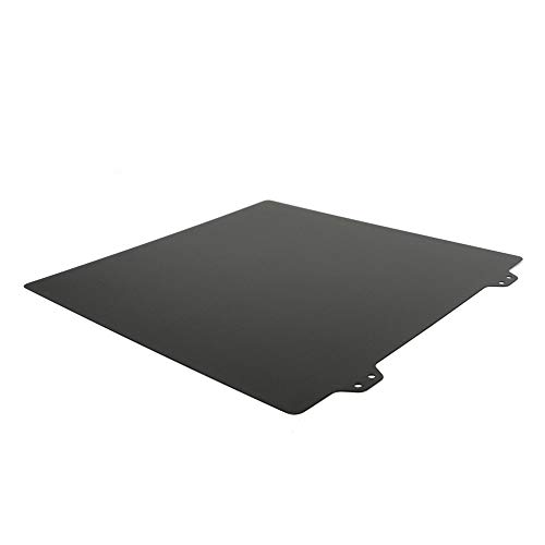 XIAOMINDIAN 220x220mm Double Sided Textured PEI Spring Steel Sheet Powder Coated PEI Build Sheet For Anet A8 A6 Wanhao I3 Creality Ender 5 Printer Parts