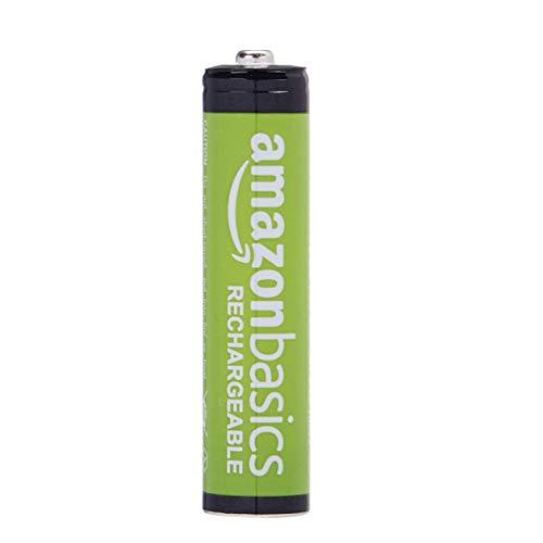 Amazon Basics AAA-Batterien, wiederaufladbar, vorgeladen, 8 Stück (Aussehen kann variieren)