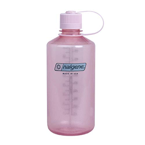 Nalgene Uni Narrow Mouth 1L Trinkflasche, Hellpink