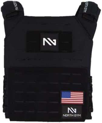 North Max 69% OFF Gym Adjustable Weighted Super beauty product restock quality top Vest We 2 Incl. Innovative Moulded