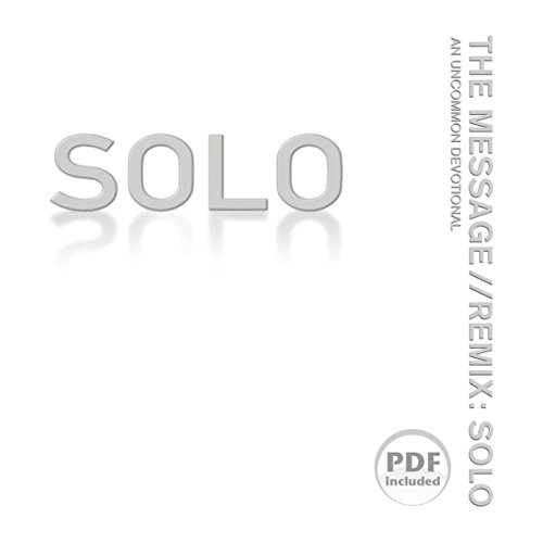 The Message//REMIX Solo audiobook cover art