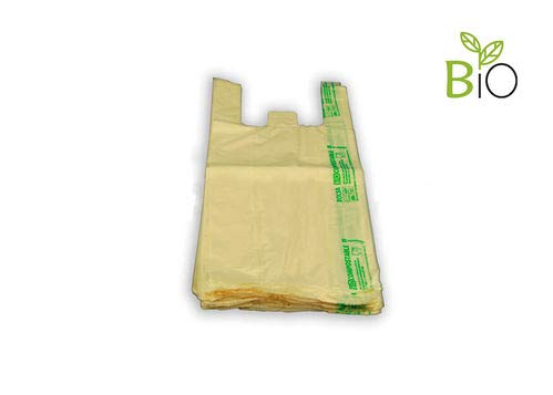 Bolsa Asa Camiseta Compostable Galga 58 300x400mm 1000 Unidades