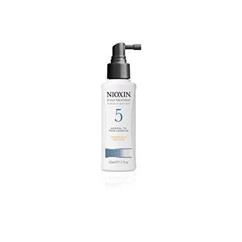 Nioxin System 5 De Traitement Du Cuir Chevelu Pour Les Moyennes À Grossier, Normal Mince Regardant, Cheveux Naturels Et Traités Chimiquement (100 Ml)