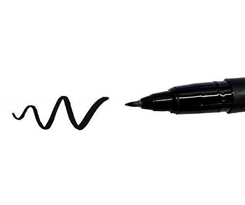 Marcador Pigma Fb Pincel Fino Negro, Sakura, Marcadores Permanentes, Marcadores, Materiales De Arte