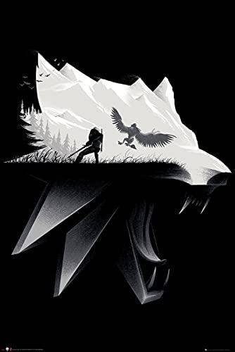 GB Eye FP4834 Poster, Noir et Blanc, 91,5x61cm[Ancien Modèle]