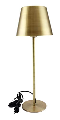 Kaheku Lampe Somerset matt Messing, Durchmesser 18 cm, Höhe 50 cm 939001998