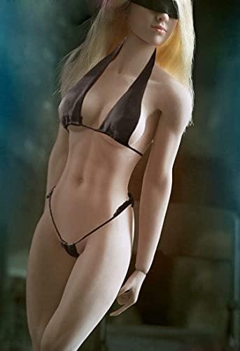 ZSMD TBLeague Gliederpuppe Weibliche Körper Figur Weiblich 1/6 12 Zoll 28 cm Weiße Haut höhere Brust liederpuppe Super Flexible Weiblich nahtlos Body (Nicht Headsculpt enthalten)(S22A)