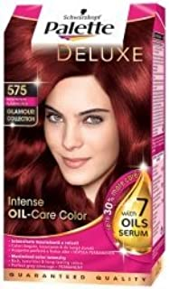 Palette Deluxe Color Hair Colour Dye 575 Flaming Red by Schwarzcopf