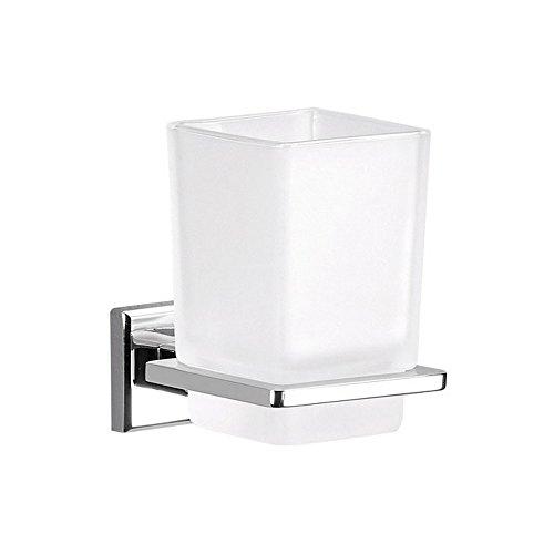 Portaspazzolini contenitore in vetro - COLORADO GEDY