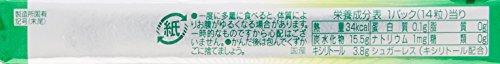 ロッテ商事 アクオ グリーンミント 14粒 [6211]