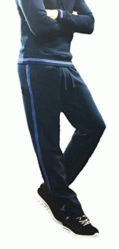 generisch Crane Herren Thermo Jogginghose Sporthose Trainingshose Laufhose Sweathose Winter (L 52/54, blau)