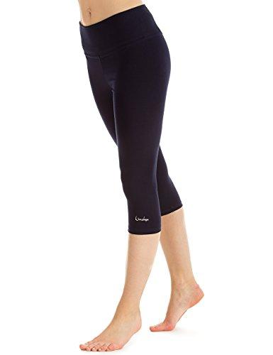 Winshape WTE9–Slim Tights Leggings WTL2Fitness Yoga Pilates, Mujer, Color Azul Noche (Night Blue), tamaño Extra-Small