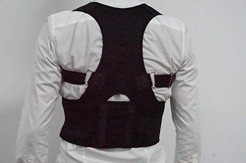Back Brace Posture Corrector for Men and Women - The Ultimate and Best Fully Adjustable Support Brace