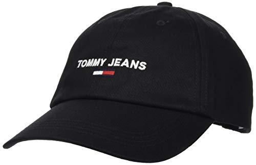 Tommy Jeans Tjm Sport cap Cappello, Nero, Taglia unica Uomo