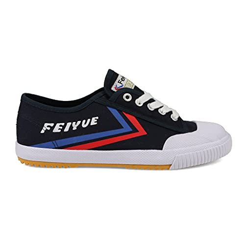 FEIYUE Navy FE LO 1920   Unisex Sizing   Martial Arts   Parkour   Performance Sneakers Navy Canvas 12M