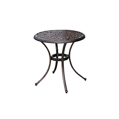 Mesa plegable portátil al aire libre Mesa de comedor redonda de patio...
