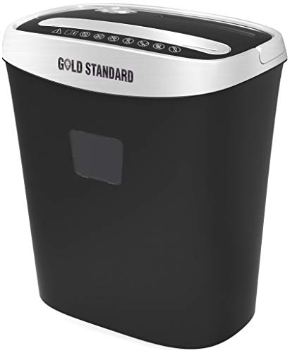 Goldstandard USA Cross Cut Paper Shredder for A4 Size Sheet and CD, DVD, Credit Cards