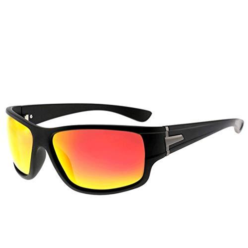 A-myt Personalidad, Chic Gafas de Sol polarizadas para Hombres, Gafas de Sol de Gama Alta Protectora Coloridas, Gafas de Sol de Ciclismo al Aire Libre Proteja los Ojos del daño
