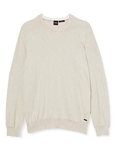 BOSS Herren Kamyoda Pullover Sweater, Light/Pastel Blue (458), 3XL EU